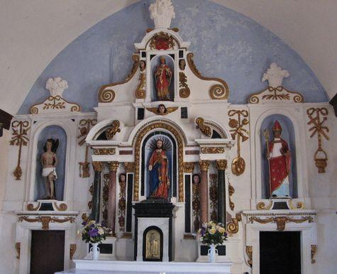 Eglise de Saint-Léger le maître-autel