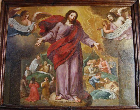 Les oeuvres de charité - église de Saint-Léger