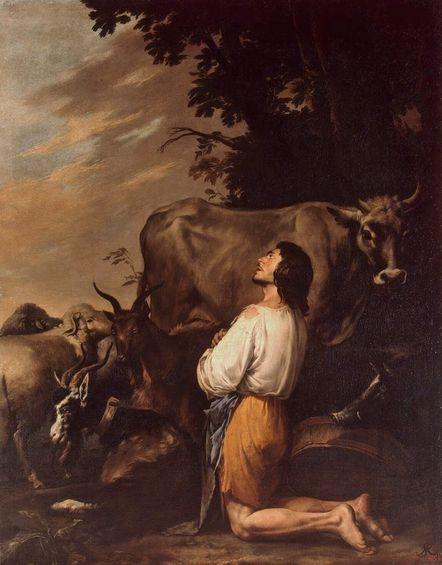 Salvator Rosa - le prodigue rentre en lui-même (1651-55)