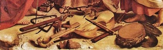 Raphaël l'extase de Sainte Cécile - premier plan