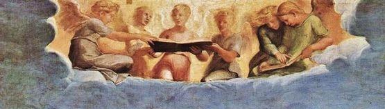 Raphaël l'extase de Sainte Cécile - troisième plan