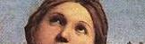 Raphaël l'extase de Sainte Cécile - yeux de Sainte Cécile