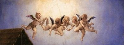 Agnolo Bronzino - Adoration (détail 1)