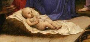 Agnolo Bronzino - Adoration (détail 2)