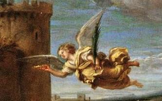 Annibale Carraci  - détail du martyre de Saint Etienne