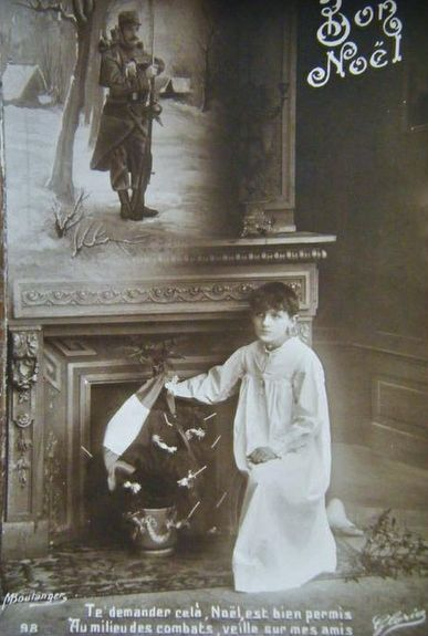 Noël 1914 - l'enfant du soldat