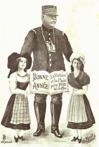 Nouvel An 1915 - Général Joffre