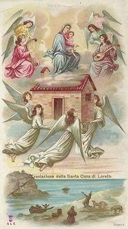 Translation de la Sainte Maison - image de dévotion populaire