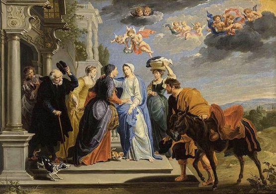 Willem van Herp - la Visitation, 1659