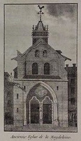 ancienne église de la Madeleine - Paris