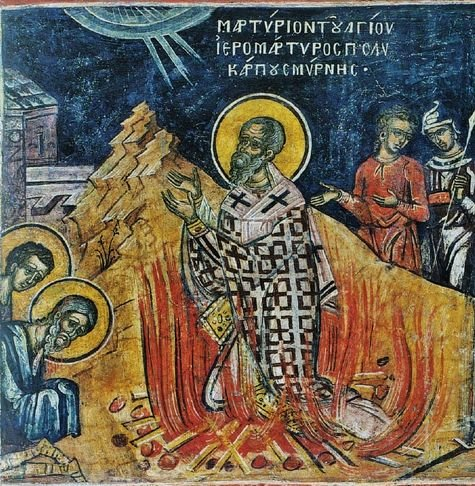 Martyre de Saint Polycarpe