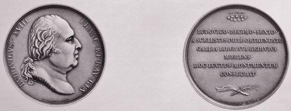 Médaille commémorative de la pompe funèbre du 21 janvier 1815
