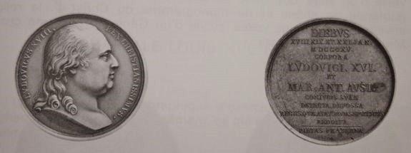 Médaille commémorative de l'exhumation les 18-19 et 20 janvier 1815