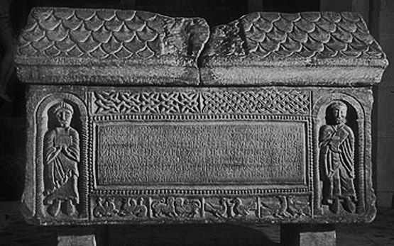 Sarcophage de Saint Andéol