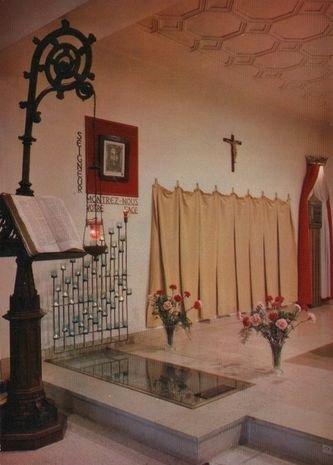 Oratoire de la Sainte Face état après V2