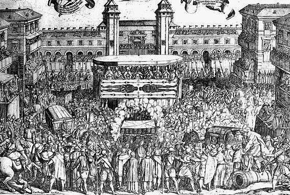 Antonio Tempesta, Ostension du 4 mai 1613 à Turin - Bibliothèque royale de Turin