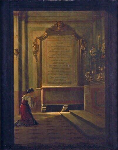 Jean-Pierre Franque tombe de la reine Marie-Clotilde acquis par Louis XVIII en 1818 -musée des Ursulines à Macon
