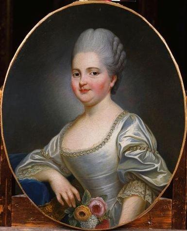 Madame Clotilde à l'âge de 12 ou 13 ans - attribué à François-Hubert Drouais (musée de Versailles)