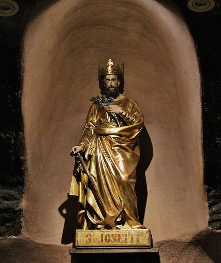 Statue de Saint Joseph de Bon Espoir