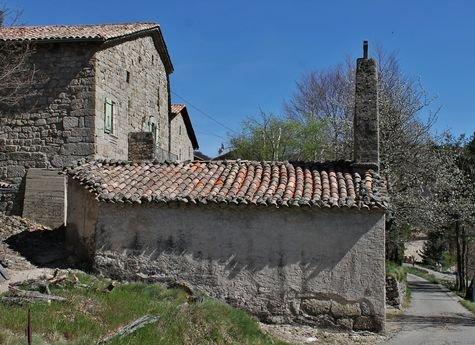 Burzet - hameau du Villard, la chapelle