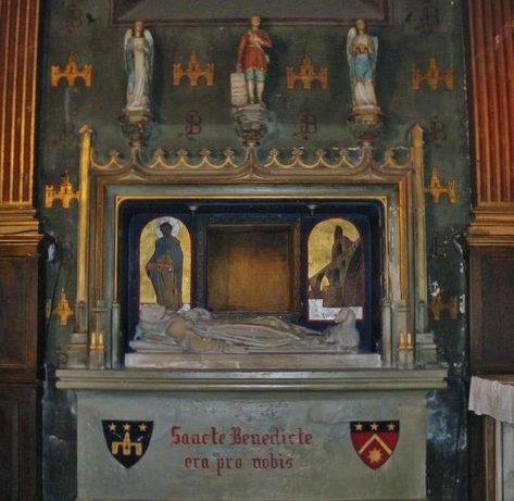Tombeau de Saint Bénézet dans la collégiale Saint-Didier - Avignon