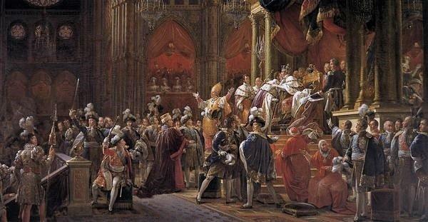 Sacre de Charles X 29 mai 1825