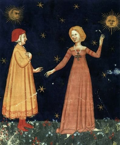 Miniature Divine Comédie Cod. It. IX. 276 1380-1400 - Bibliothèque Marciana, Venisee