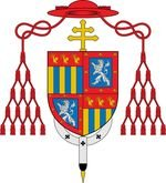 Armoiries du cardinal François de Joyeuse