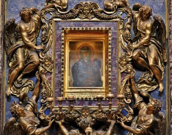 Icône Salus populi romani Sainte Marie aux Neiges à Rome