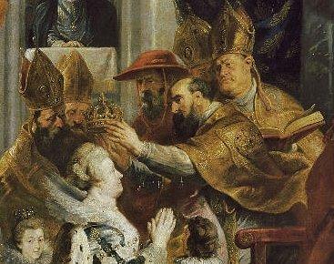 Rubens sacre de Marie de Médicis - détail