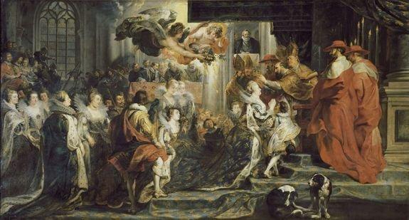 Rubens sacre de Marie de Médicis