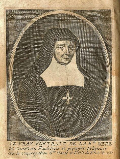 Vray portrait de la Rde Mère de Chantal