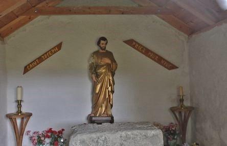 Montusclat, chapelle Saint Joseph - l'intérieur