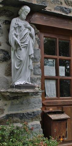 Montusclat la boite aux lettres de Saint Joseph