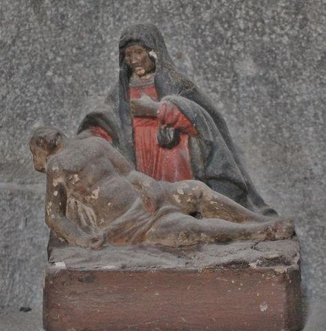 Montusclat - petite Piéta du XVe siècle dans l'église
