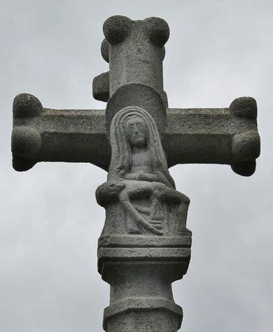 Montusclat - revers d'une croix de carrefour