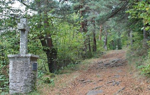 Montusclat - Sentier des Sept Douleurs