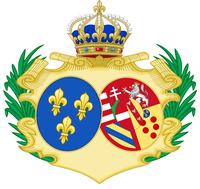 Armes de Sa Majesté la Reine Marie-Antoinette de Habsbourg-Lorraine