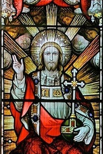 Christ de gloire (détail)
