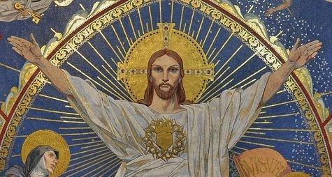 Montmartre détail de la mosaïque de l'abside - 2