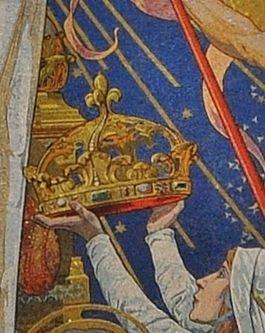 Montmartre détail de la mosaïque de l'abside - 3
