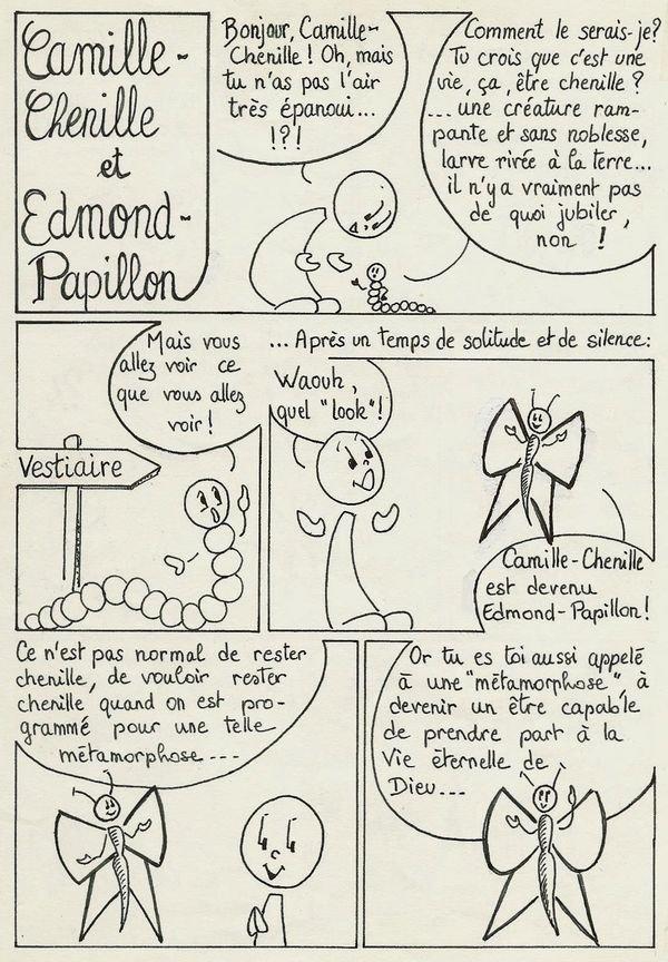 Camille chenille recto