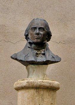 Millau - buste de Louis de Bonald