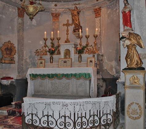 ND de la Rose - le sanctuaire pour un dimanche vert