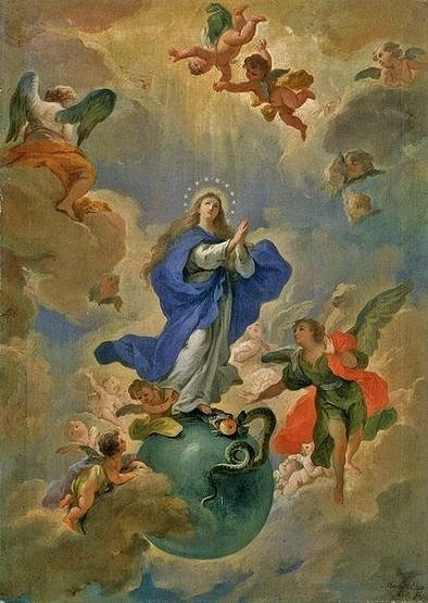 Martino Altomonte - Budapest - Immaculée Conception (1719)