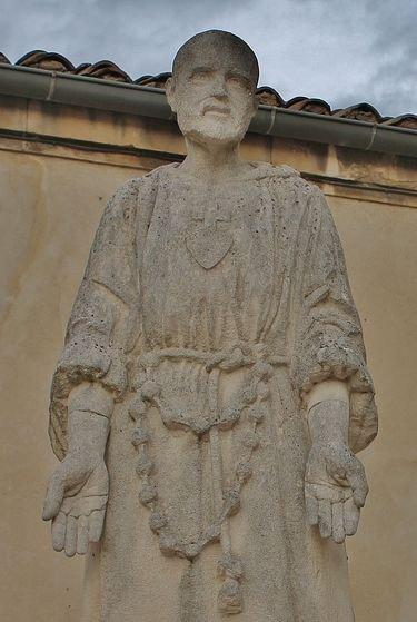 Viviers séminaire statue Charles de Foucauld