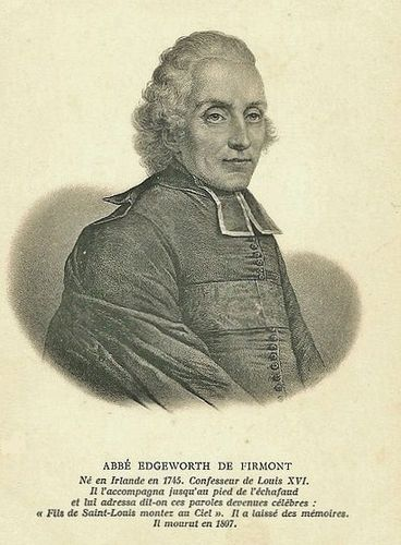 Abbé Henri Essex Edgeworth de Firmont