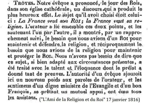 ARR 17 janvier 1816
