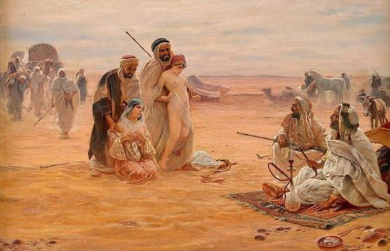 Le marché aux esclaves-Otto Pilny 1910