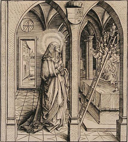 Leonhard Beck 1480-1552 vision de Ste Bathilde